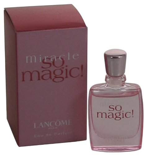 Lancome miracle so magic the celebrity fragrance guide for Miracle magic bathroom