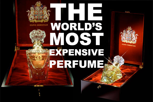 The World 39 S Most Expensive Perfume Clive Christian No 1